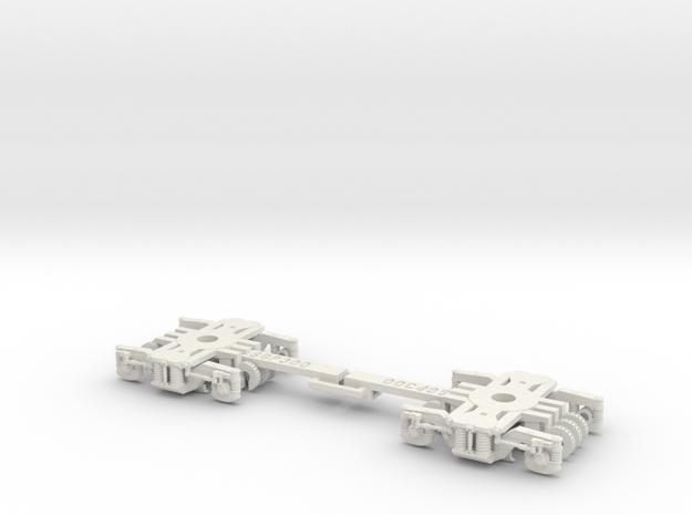Bogie SGP300 in White Strong & Flexible