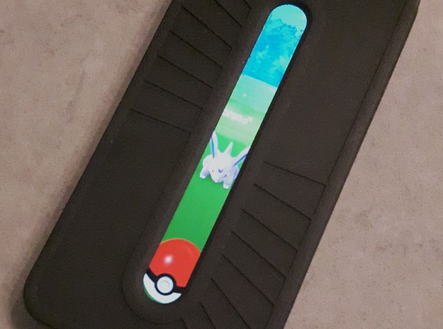 Pokemon Go Ball Aimer - Case and Cover - iPhone 6 in White Strong & Flexible