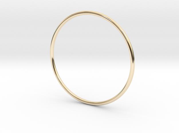 Slim simplicity bangle 3d printed