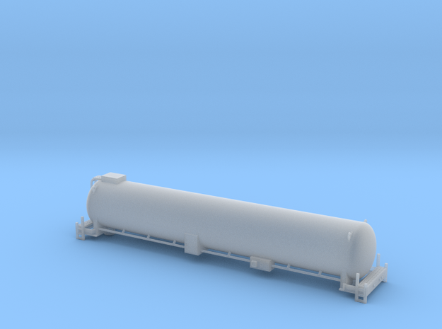 BNSF LNG Tender - HOscale in Smooth Fine Detail Plastic