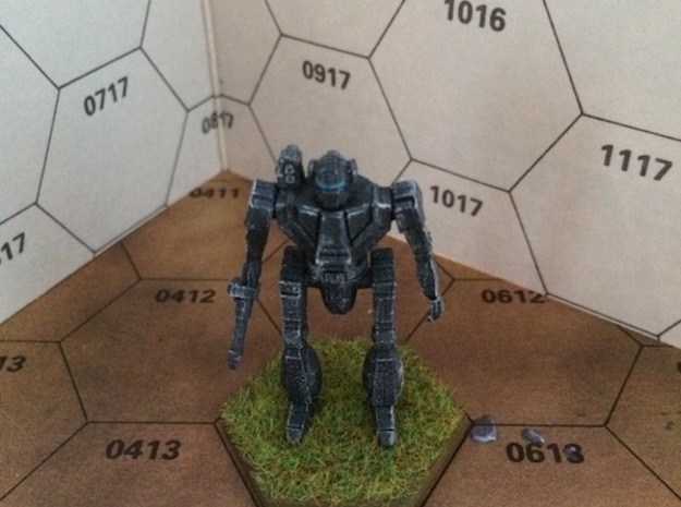 Wasp-WSP-1A 3d printed Painted model. (The model you can order at shapeways is of course not painted!)