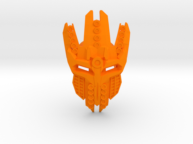 Mask Of Particle Beam Travel - For Sale At Cost in Orange Processed Versatile Plastic