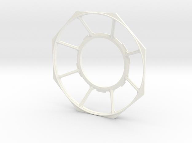 DeAgo Millennium Falcon Gunner Window accurate in White Processed Versatile Plastic