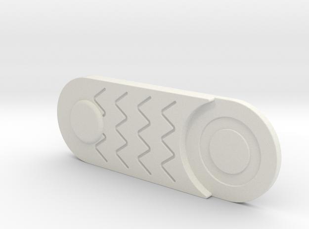 Comlink Part 1 in White Natural Versatile Plastic