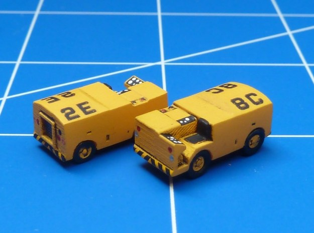 1:144 Scale NC-2 Mobile Electric Power Plant (x2)