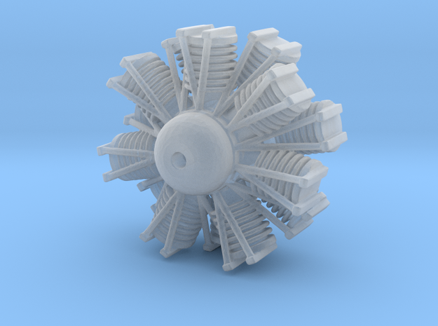 1:72 Blackburn Shark Engine in Smoothest Fine Detail Plastic