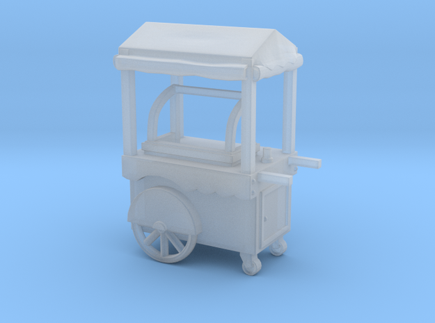 Food cart 01. 1:96 Scale in Smooth Fine Detail Plastic