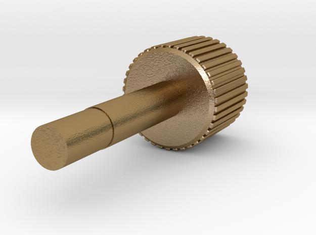 Resident Evil 3: Winder key screw in Polished Gold Steel