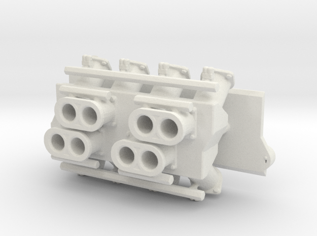 SBC Injector Intake 1/12 in White Natural Versatile Plastic