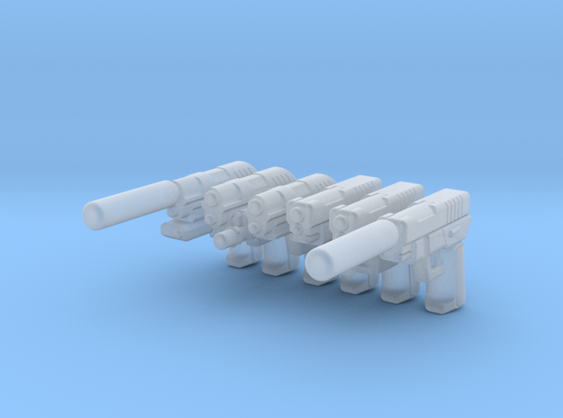 Sidearms Package  in Smooth Fine Detail Plastic