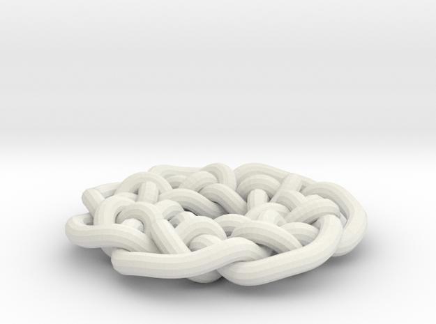 Celtic circular knot 3d printed