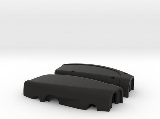 Tesla Torch Case in Black Natural Versatile Plastic