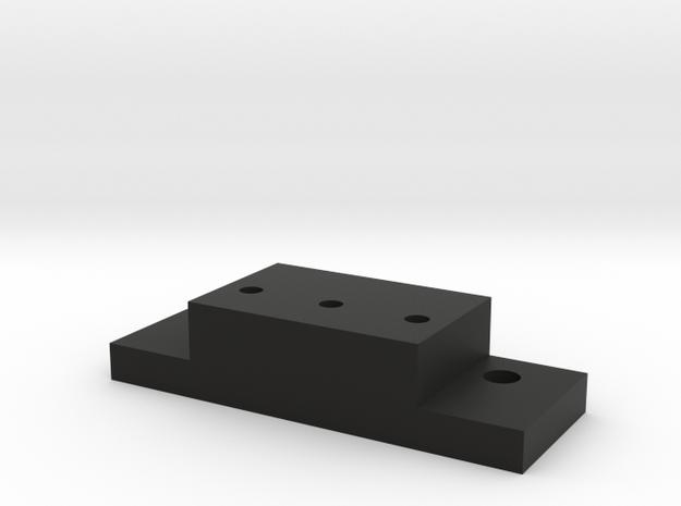 Lionel & MTH O Scale ALCo PA-1 Coupler Mount in Black Natural Versatile Plastic