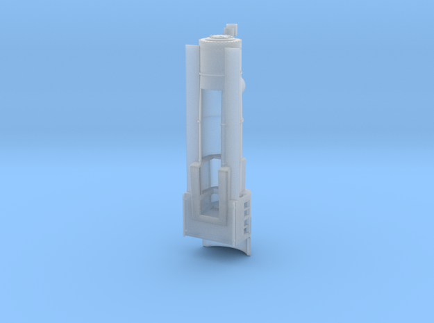PRR E6 N Scale Boiler and Cab Shell in Smooth Fine Detail Plastic