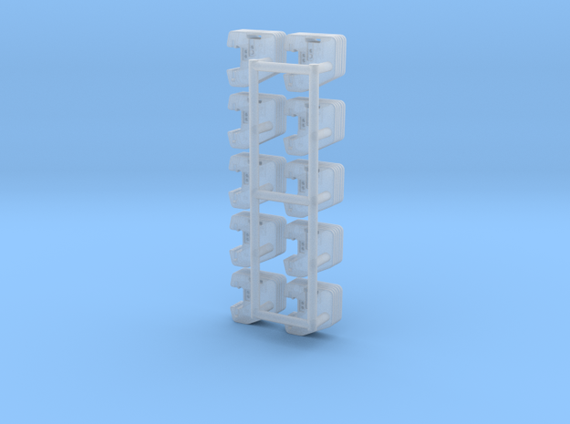 1/64 Front weights 5 (10 sets) in Smooth Fine Detail Plastic
