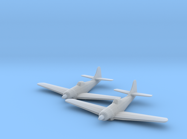 Boeing XF8B 1:200 x2 FUD in Smooth Fine Detail Plastic