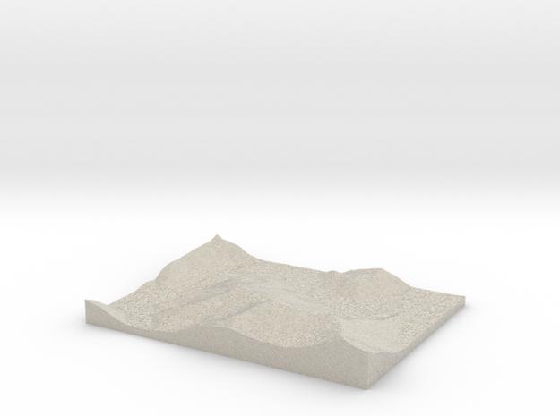 Model of Trace Creek