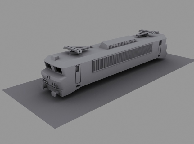 NS 16/17/1800 (1:220) in Smooth Fine Detail Plastic