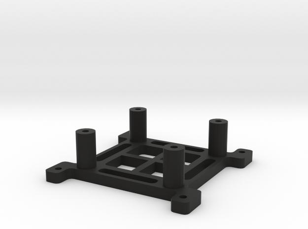 Hendheld Akku/Adapter Plate in Black Natural Versatile Plastic