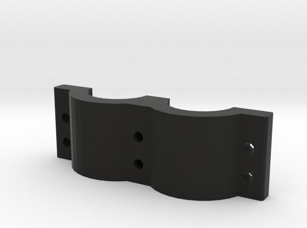 Handheld Grip Bottom  in Black Natural Versatile Plastic