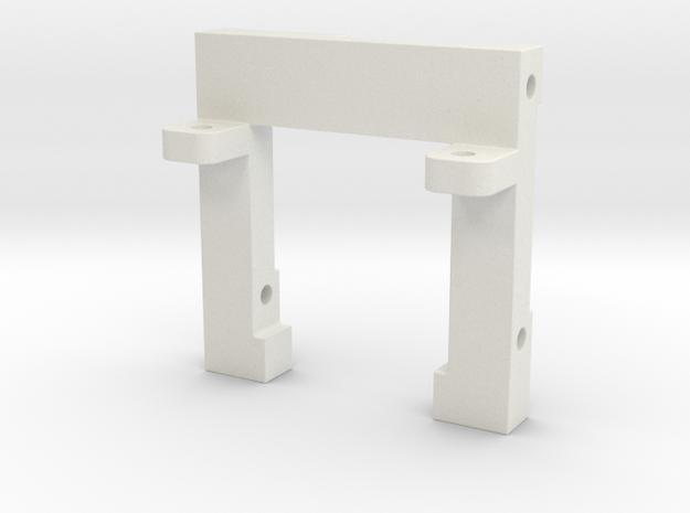 OT-DKBR-01 in White Natural Versatile Plastic