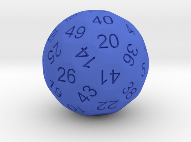 D50 Sphere Dice 3d printed