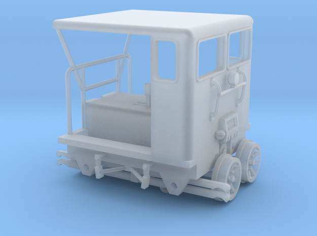 Maintenance-Of-Way Motor Car 1-87 HO Scale (Moveab in Smooth Fine Detail Plastic