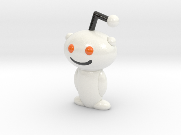 Snoo in Glossy Full Color Sandstone