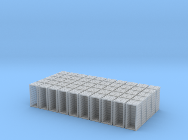 1:400_20' Container [x50][A] in Smooth Fine Detail Plastic