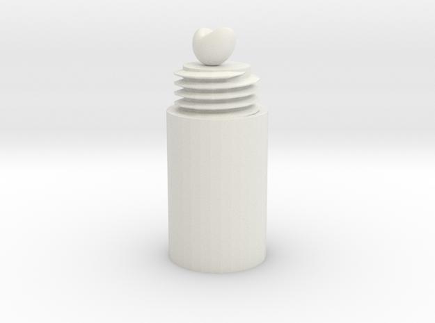 Beannie Boluzza in White Natural Versatile Plastic