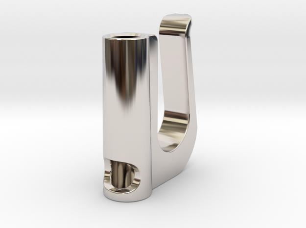 Ecig Clip in Platinum