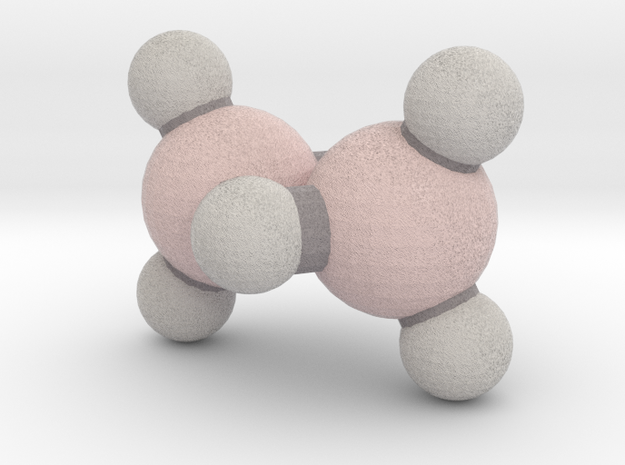 Diborane (B2H6) in Full Color Sandstone