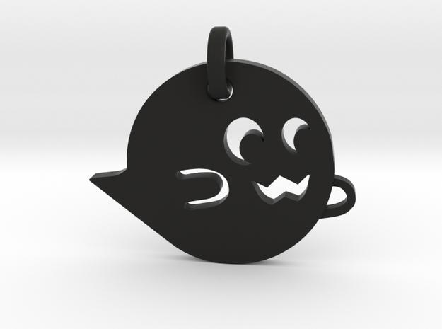 Little Ghostie in Black Natural Versatile Plastic