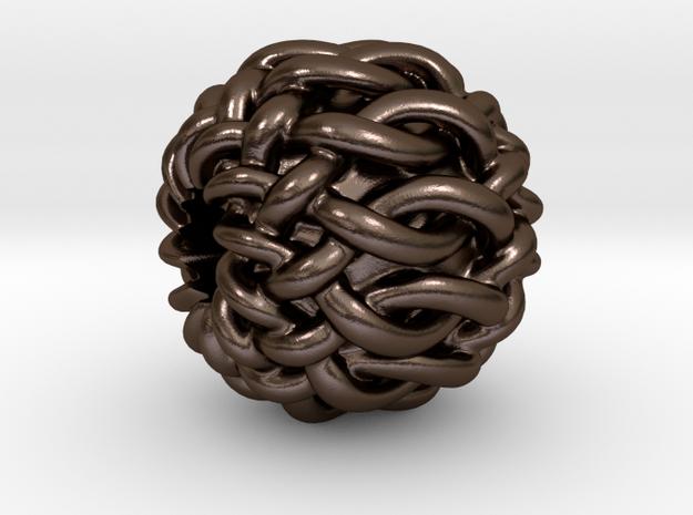"Celtic ""12-Box Knot"" bead"