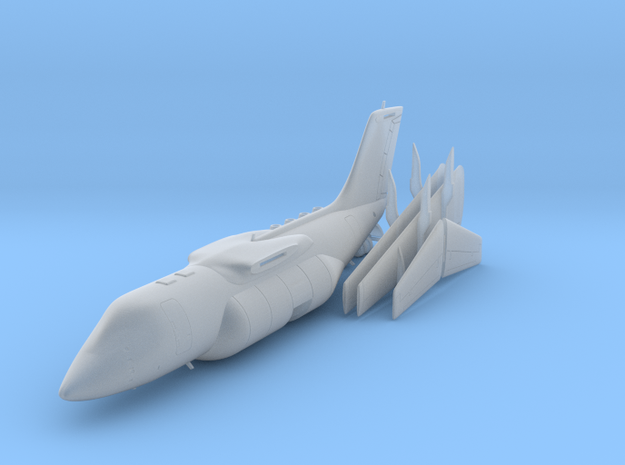 1:200 - BAE 146-200 Fire [x1][S] in Smooth Fine Detail Plastic