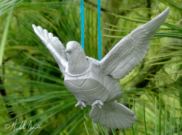 (Mythical) Turtle Dove Sculpture and Ornament