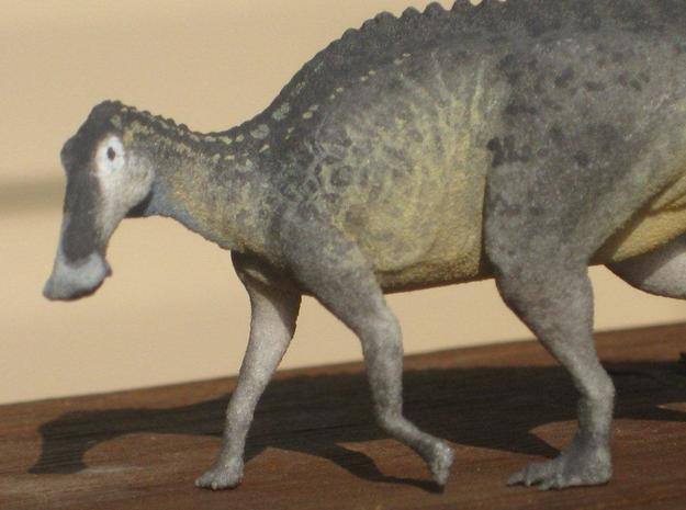 Edmontosaurus Krentz 3d printed White Strong and Flexible painted by Shane Foulkes