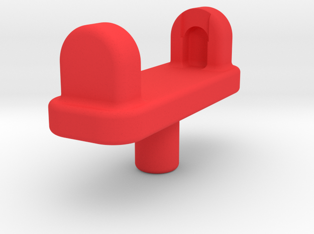 Fort Max Wrist Adapter in Red Processed Versatile Plastic
