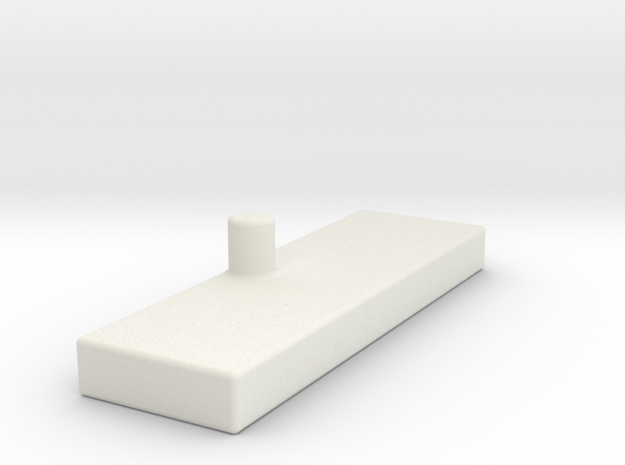 Ramp Stabilizer Other Side in White Natural Versatile Plastic