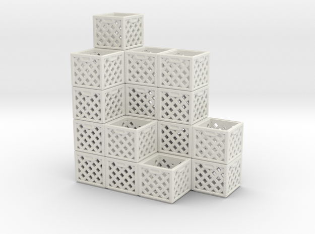 Milk Crate Stack 1