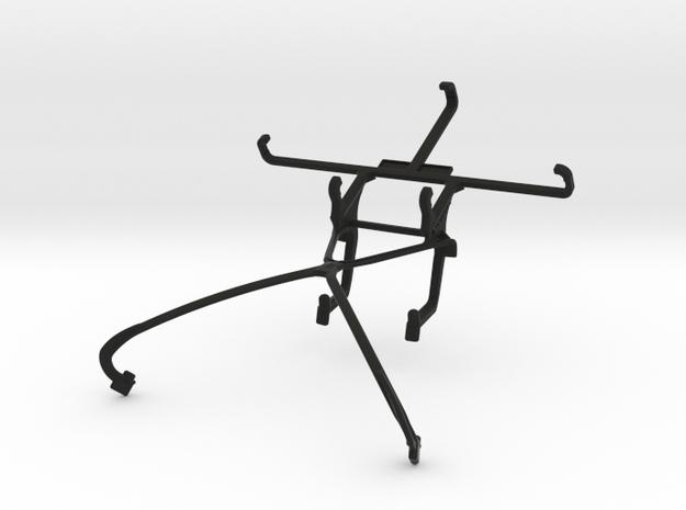 NVIDIA SHIELD 2014 controller & LG Bello II - Fron in Black Natural Versatile Plastic