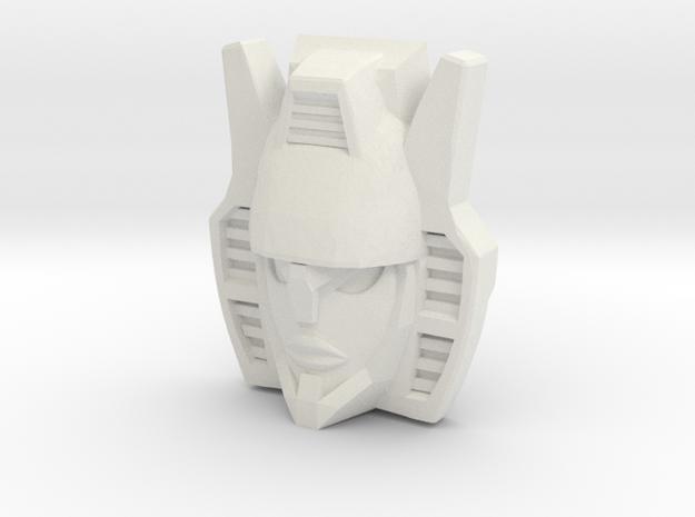 """R63 - """"Menace"""" Face (Titans Return) in White Natural Versatile Plastic"""