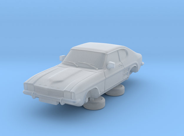1-76 Ford Capri Mk1 Standard in Smooth Fine Detail Plastic