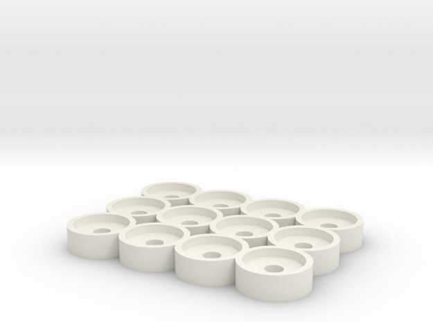 Atomizer Holder  in White Strong & Flexible