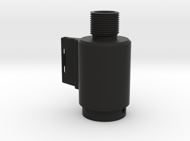 KJW MK.2 Thread Adapter (With Sight)  in Black Natural Versatile Plastic