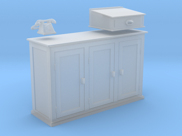 EP76 Signalmans Cabinet in Frosted Ultra Detail