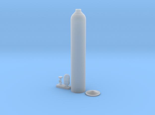 Oxygen Cylinder 1/35 in Smooth Fine Detail Plastic: 1:35