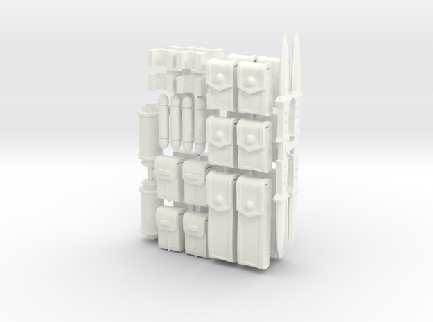 ACC-Accessoriespack-01  6-7inch 3d printed