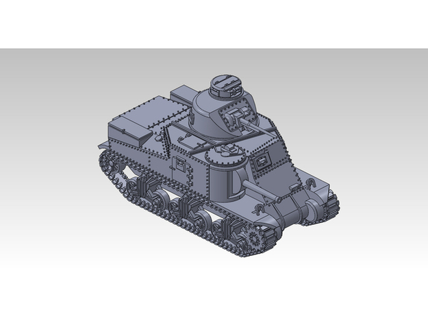 1/87 M3 LEE Medium Tank 3d printed