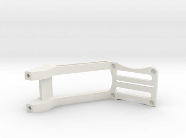 Gimbal Arm Modified in White Natural Versatile Plastic